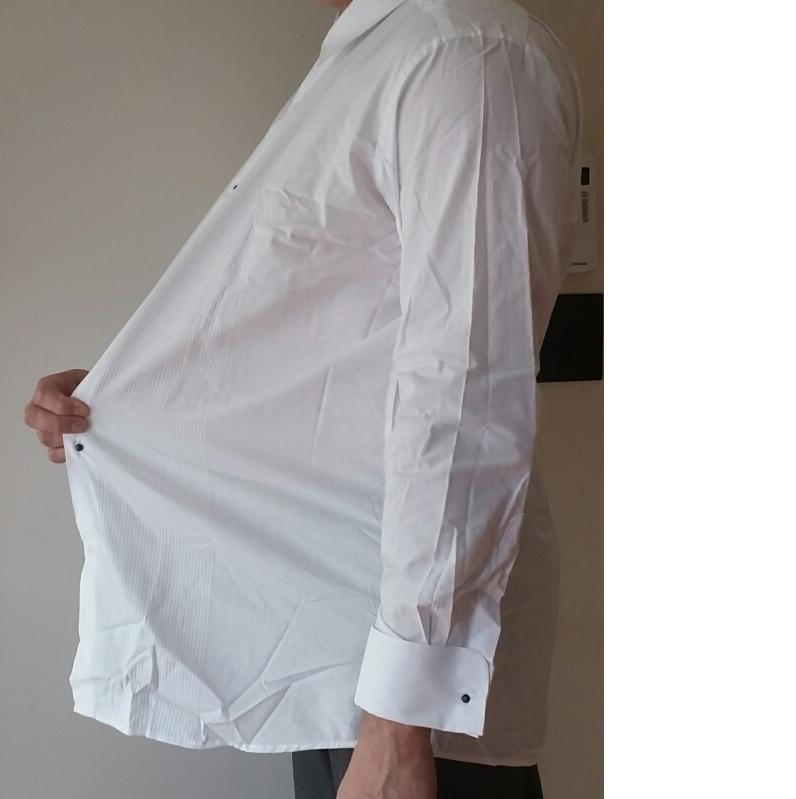 Tuxedo Shirt Shopping Not Tall Minus Big